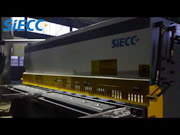 Swing Beam Shear Machine
